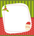 merry christmas greeting card merry christmas vector image vector image