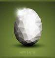 modern easter egg vector image vector image