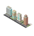 Office Buildings Isometric Design vector image vector image