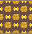 Pasta whole wheat seamless pattern corn rice