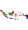 Republic of Indonesia vector image vector image