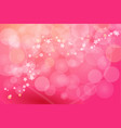 background pink for card vector image