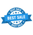 best sale ribbon best sale round blue sign best vector image vector image