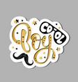 cool boy slogan kids print t shirt graphics vector image vector image