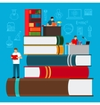 Education and study concept vector image vector image