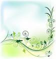 floral flower background vector image vector image