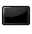 Tablet PC isolated vector image