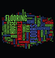 the elegance of hardwood floors text background vector image vector image