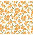 watercolor abstract orange pattern vector image vector image
