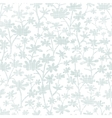 abstract gray bush leaves textile seamless pattern vector image vector image