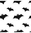 bat seamless pattern vector image vector image