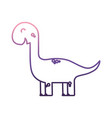 cute dino toy icon vector image