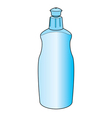 dishwashing liquid bottle vector image
