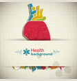 human organs concept vector image vector image