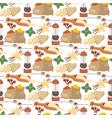 seasoning food herbs natural healthy spices vector image vector image