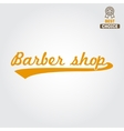 Vintage barber shop logo labels badges and vector image vector image