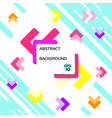 basic abstract background design with geometric vector image vector image