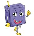 Juice Box vector image vector image