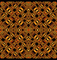 seamless abstract geometric pattern on a brown vector image