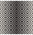 Seamless Rhombus Shape Lines Halftone Grid vector image