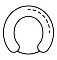 artificial breastfeeding icon outline style vector image vector image