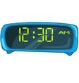 cartoon home clock vector image vector image