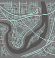 city map perspective vector image vector image