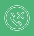 emergency call glyph icon medicine and healthcare vector image vector image