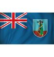 Flag of Montserrat vector image vector image