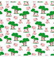 pig pattern vector image vector image
