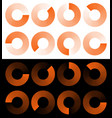 preloaders progress phase indicators buffer vector image vector image