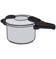 Pressure cooker vector image vector image