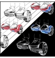 Set Hoverboard Two-wheeled motorized personal