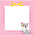 video and photo frame background vector image vector image