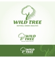 Wild Tree Logotype vector image