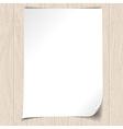 wooden background 1 vector image vector image