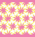 abstract flower sun pattern on white background vector image