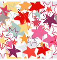 abstract seamless pattern for children vector image vector image