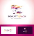 Beauty Salon Logo Design vector image vector image