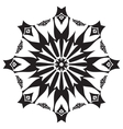 Circular pattern Islamic ethnic ornament for