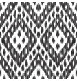 fashion ikat seamless pattern vector image vector image