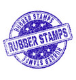 grunge textured rubber stamps stamp seal vector image