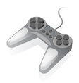 Isometric icon of gamepad vector image