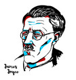 james joyce vector image