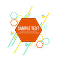 modern abstract geometric background design style vector image vector image