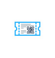 product barcode logo icon design vector image