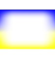Yellow Blue Copyspace Background vector image vector image