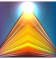 Colorful Futuristic Background vector image