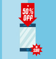 big discounts sales vector image