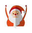christmas character icon image vector image vector image